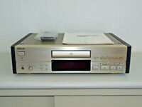 Sony CDP-X505ES High-End CD-Player in Champagner, FB&BDA, 2 Jahre Garantie
