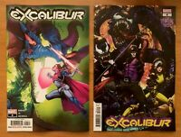 EXCALIBUR #4 Main Cover + Ngu Venom Island Variant Marvel 2019 NM