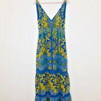 Hale Bob Coloroful Boho Maxi Dress - Size Small
