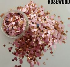 Nail glitter DOTS ROSEWOOD For acrylic or gel detail work