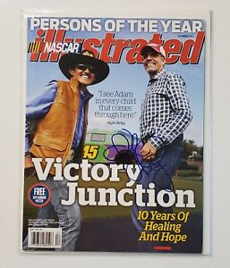 Kyle Petty Signed NASCAR Illustrated Magazine Autograph