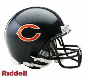 Chicago Bears VSR4 Riddell Football Mini Helmet New in box