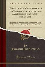 Handbuch der Mathematischen und Technischen Chronologie, das Zeitrechnungswesen