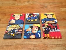 Joblot OF 6 FIRE MAN SAM  CANVAS PICTURES 6 X 6 Each 1
