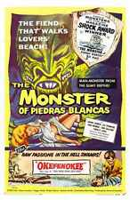 Combo Monster Of Piedras Blancas Poster 02 A2 Box Canvas Print