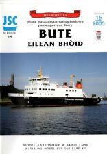 Card Model Kit – Passenger car ferry Bute