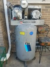 Ingersoll Rand Air Compressor T30 Type 30 Model 242 Ir 3 Phase Vertical