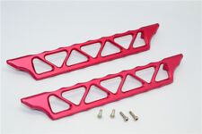 Aluminum Alloy Side Trail Bar- 1PR For Traxxas X-MAXX 7723 Red