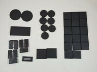 Lot of Warhammer Bases. Large Round Square Various Sizes.