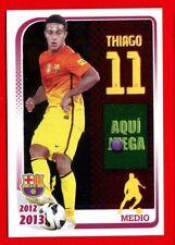 FC BARCELONA 2012-2013 Panini - Figurina-Sticker n. 117 - THIAGO -New