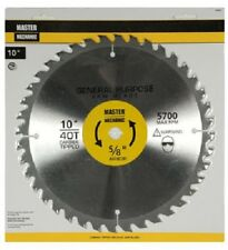 "Disston, Master Mechanic, 10"", 40 Tooth, Smooth Cut Comb, Circular Saw Blade"