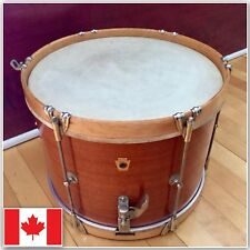 WFL Ludwig Circa 40-50's Vintage Snare Drum All Original Marching Parade Snare