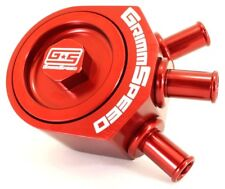 Grimmspeed Red Air / Oil Separator for Subaru 05-09 LGT, 08-14 WRX, 09+ FXT