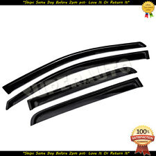 For 2004-2015 Nissan Titan CrewCab Smoked Window Visors Guards Vent Shades JDM