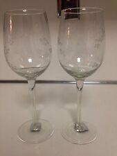 Mikasa Gourmet Basics Very Berries Wine Glasses - 2 Total