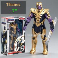 "New Thanos Marvel Avengers Legends Comic Heroes Action Figure 7"" Kids Toys Gifts"
