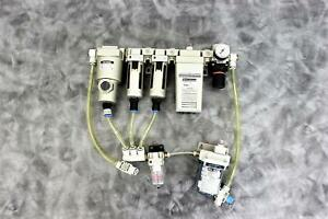 SMC Pneumatic Dryer Manifold for Corning Epic Plate Reader with 90-Day Warranty