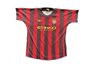 Manchester City Away Shirt 2011/12 (SIZE 48, XXL MENS)
