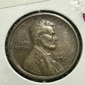 1921-S LINCOLN  PENNY BETTER GRADE COIN