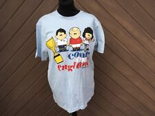 Weenicons Mens Come On England T Shirt Size M