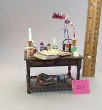 Dollhouse miniature 1/12th scale wizard table  by Jan Smith #13