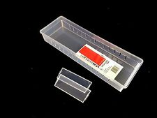 6 x  Multi Purpose  PVC Storage Drawer Draw Organiser Tray 34.9x11.9x4.8cm New