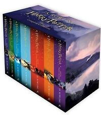 NEW Harry Potter 7 Books Complete Collection Boxed Set JK Rowling FREE AU POST!