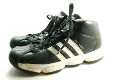 Adidas Hi Top Athletic Shoes Men s Sz 6m Black White Pro Model Leather  (tu28) f3404a8f0