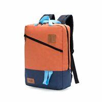Backpack School Book Bags Shoulder Rucksack Canvas Travel Bag Unisex