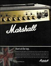 Jim Marshall MG 15FX MG4 Series amplifier advertisement 2010 amp ad print