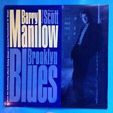 "Barry Manilow-Brooklyn Blues-1987 Arista 12"" Single BLUE VINYL PROMO  UNPLAYED"