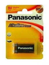 1 Pile Alcaline 9V 6LR61 PANASONIC alcaline
