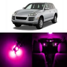 21 x Error Free Pink LED Interior Light For 2003 - 2010 Porsche Cayenne + TOOL