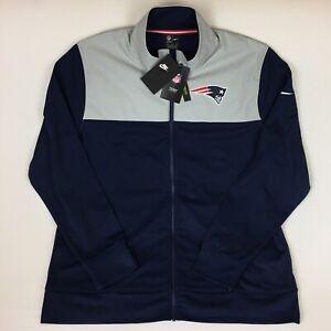 Nike New England Patriots NFL Coaches Sideline Jacket Sz L NKB6-006Y NWT
