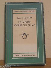 Davis Grubb - La morte corre sul fiume - Prima ED. Mondadori 1956