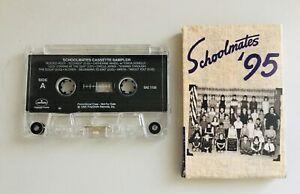 Schoolmates '95 - Rare 1995 Mercury Records Various Artists Sampler Cassette NEW
