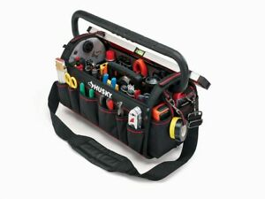 Husky 20-inch Pro Tool Bag with Pull Out Tray