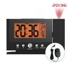 Baldr Digital Alarm Snooze Ceiling Wall Time Projection Thermometer Clock