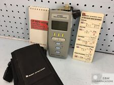 Lp 5025c Gn Nettest Fiber Optic Power Meter With Protective Case