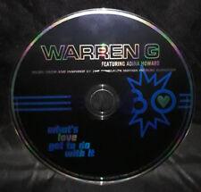 Warren G featuring Adina Howard - What's Love Got Do With It (CD) Australia