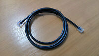 2M Cat5e Modem Cable ADSL2 VDSL RJ11 Twisted Pair Lead High Speed Broadband