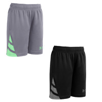 New Under Armour Little Boy's Triple Double Shorts SIZE 4,6 MSRP:$22.00