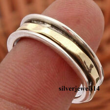 Spinner Ring Meditation Statement 925 Sterling Silver Gift Ring Size so4718
