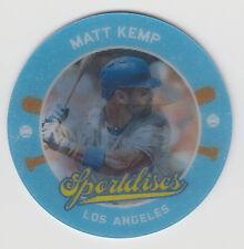 MATT KEMP 2013 Panini Hometown Heroes Baseball Sportdiscs Card #SD13 Dodgers