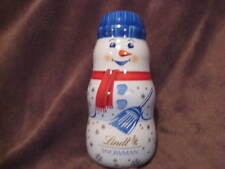 LINDT SNOWMAN COLLECTABLE TIN