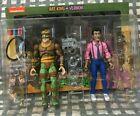 NECA TMNT Cartoon 2 pack Rat King vs. Vernon 2021 Ninja Turtles Lot EUC 100% HTF