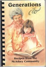 McAdory Elementary School Choir Community Cookbook 2004 McCalla Alabama