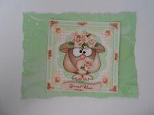 PK 2 Cutie GUFO abbellimento topper per Cartoline/Craft-SPECIALE Nan