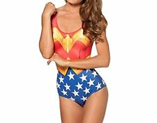 Wonder Woman Swimsuit. Bodycon. Halloween Costume