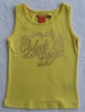 NWT Apple Bottoms Girls Yellow Sleeveless Top(Size 4) NEW
